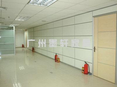 partition wall 高间隔 规划办公室间隔墙 形象墙 加百叶高隔