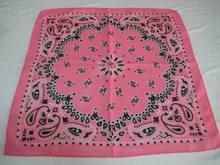 围巾厂定做各种女款全棉头巾价格便宜时尚