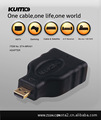 HDMI转micro转接头,HDMI A TO D Adapter,HDMI TYPE D 转换头