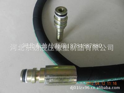 厂家批发丁腈橡胶铠装胶管总成 加油机胶管总成