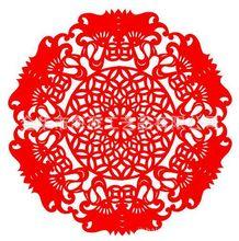 厂家直销 蛇年春节吉祥剪纸窗花贴 婚庆喜庆装饰贴纸 窗花