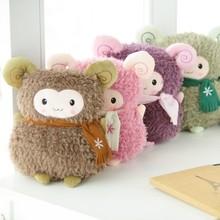 熱賣批發卡通嘟嘟羊暖手靠墊創意毛絨玩具禮品可加工定制招代理