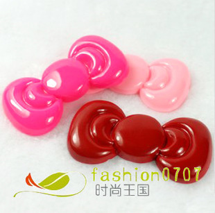 New Resin Bowknot DIY Mobile Beauty Bowknot Spot Bowknot Paste Diamond Material My Accessories