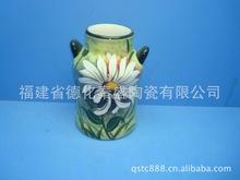 供应陶瓷白云土花瓶,现代工艺花瓶摆件