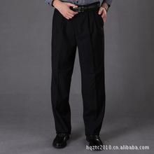 特大码 男士正装西裤 男西裤 商务款男士西裤 黑 藏蓝色西裤 男