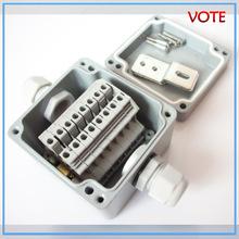 FA18室外接线端子盒 8位防水端子盒 铝端子盒 高压电缆接线端子盒
