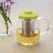 正品一屋窑耐高温玻璃茶具 玻璃泡茶杯 玻璃茶壶FH-3442X2/550ML