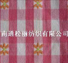 全棉光边色织布提花弹力双层布金银丝布剪花布