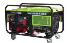 拖拉焊机,移动式发电电焊机,汽柴油移动式发电电焊两用机300A