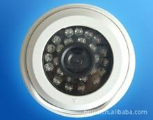 监控摄像头安防摄像机 红外室内高清广角夜视半球海螺探头