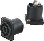 专业厂家直供 XH4016卡侬音响插头母座 塑料卡侬音频母插头座出售