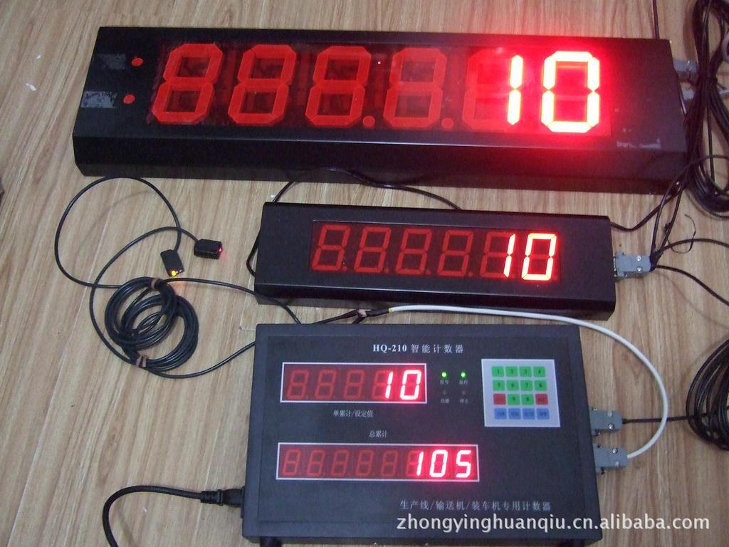 HQ-210智能计数器外接2个大显示器