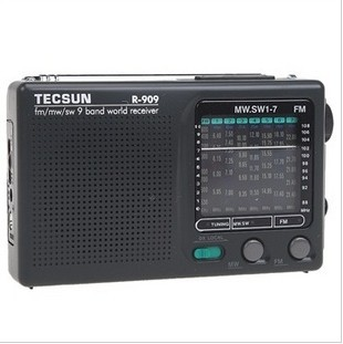 Tecsun/德生 R-909老年人<font color=red>收音</font><font color=red>机</font>全波段便携式fm<font color=red>调频</font>广播半导体