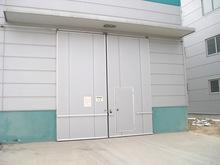 河南厂家直销工业推拉门平移门 定做手动电动门大型厂房推拉门