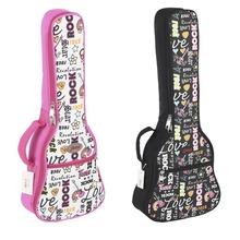 樂動樂器加厚彩印23寸尤克里里包 C型UK袋 小吉他背包批發