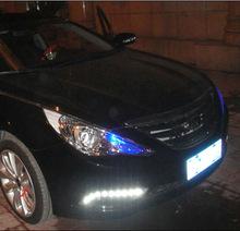 【車亮點】 現代索納塔八代專用日行燈 改裝行車燈 廠家直銷
