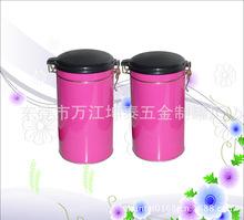供应马口铁盒 金属罐 存气糖果食品罐 公版茶叶铁罐