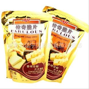 供应 马来西亚Aji惊奇脆片饼干 200g*12包/箱