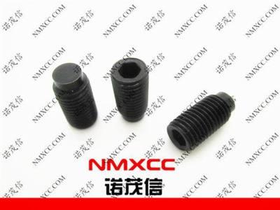 12.9级细牙凸端顶丝 凸端机米螺钉 M8-1.0*16凸端机米螺钉
