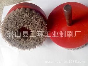 批发进口,国产磨料丝圆盘刷,90氧化铝抛光刷,碳化硅刷量大优惠