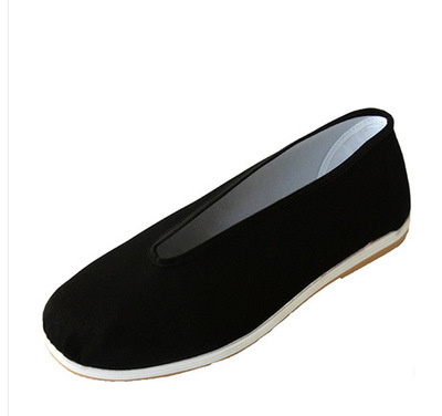 Beijing clothing tai chi shoes for women and men shoes single shoe  health shoes rib sole double soles