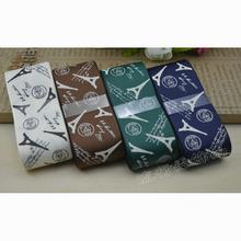 供应 3.8CM情迷艾菲尔铁塔罗纹带 diy印刷织带 F003