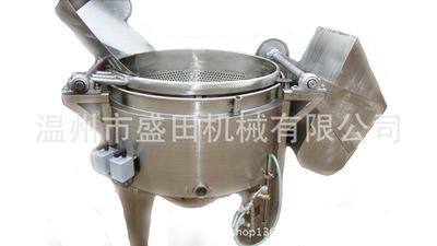 厂家直销全自动电加热油炸锅燃气油炸锅食品级质料设想完善耐用