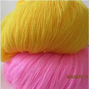 开司米纯腈纶细线绣花线826手工艺品膨体纱仿羊绒针织毛线戳花线