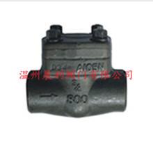 温州阀门 DN15-50 150LB-2500  锻钢止回阀API.DIN.GB