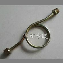 華可鐵壓力表緩沖管銅緩沖管壓力表彎管壓力表盤管鐵管儀表管