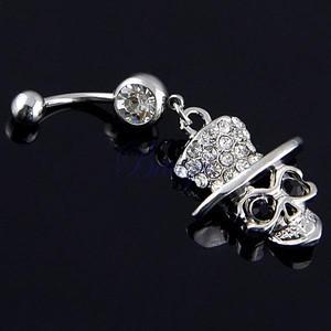 Bán buôn nhỏ ngoại thương để đặt hàng đuôi bán men men kim cương rốn kim cương rốn móng tay trang sức Q00350