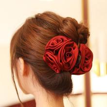新款韓版時尚發飾 發抓大號頭飾大發爪 爆款花朵抓夾外貿發夾批發