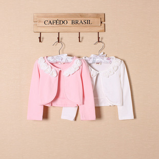 New long-sleeved children's jacket Princess sweet jacket Children's cloak cardigan jacket Children's jacket