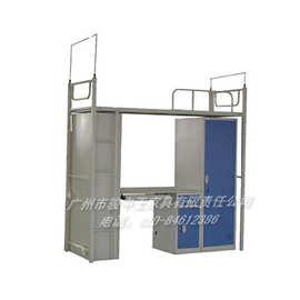 【价格可议】广州供应钢制柜台配套学校学生床 床类批发定做厂家