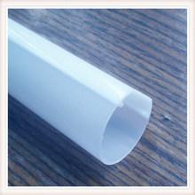 UL認證 環保擠出LED日光燈PC透明管,T8全塑1/2雙卡pc雙色管