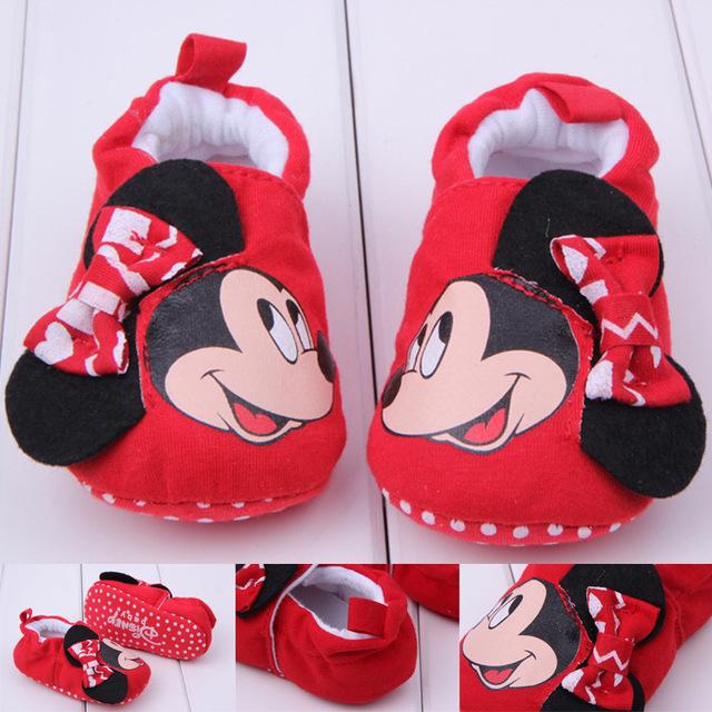 Mùa xuân và mùa thu mới cho bé những đôi giày bé mới biết đi Giày đế mềm cho bé Giày cotton không thể mua được giày 027 Giày em bé
