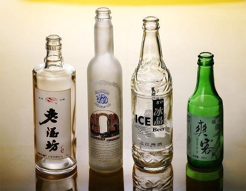 工艺酒瓶 保健酒瓶 啤酒瓶 烤花玻璃瓶 印刷酒瓶 高档玻璃酒瓶