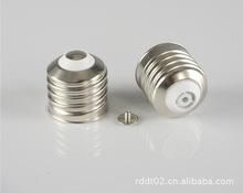 供应陶瓷灯头和免焊灯头E40/41铁镀镍 铜镀镍