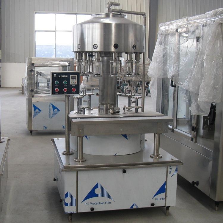 全自动灌装机 液体灌装设备 饮料生产线 葡萄酒灌装机  厂家定制
