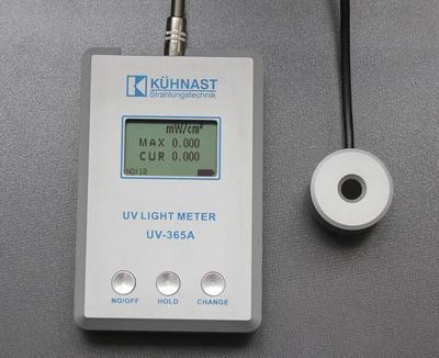 德国 KUHNAST UV-365A UV-LIGHT METER 紫外线强度计 UV照度计