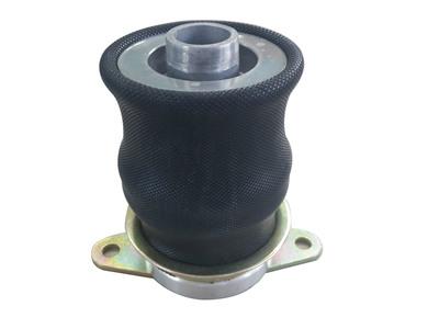 供应工业设备减震橡胶钢丝弹簧 各种橡胶减震器