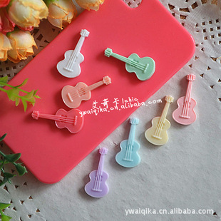 New mobile phone beauty material diy resin jewelry accessories resin violin famous ballad guitar