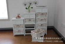 韩式田园风格家具 简约时尚储物 柜子 ?#30340;?#23478;具厂家