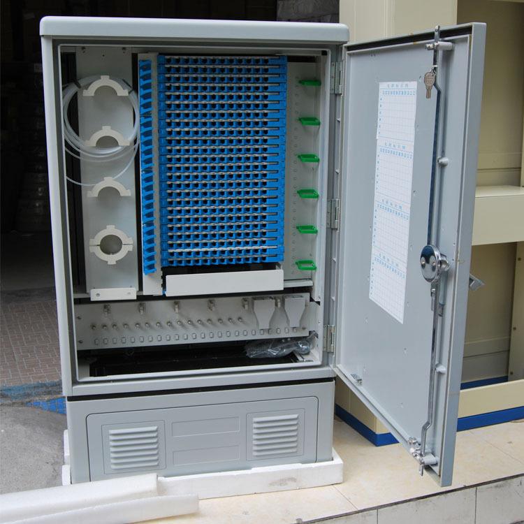 光缆交接箱   防盾288芯室外SMC光缆交接箱