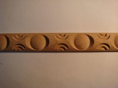 (A123-2309).现货供应2.3cm宽0.9厚加珠雕花木线条