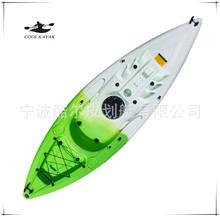 厂家热销  CE认证 PE钓鱼硬艇 单人艇 漂流皮划艇  含全套配件