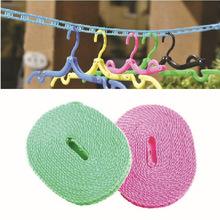 户外室内洗晒 防风防滑晒衣绳 晾衣绳晾晒绳 旅行晒衣绳子 5米