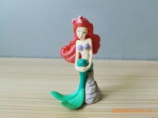 ICTI/GSV/NBCU认证工厂 定制供应塑胶玩具 卡通动漫礼品 鱼美人