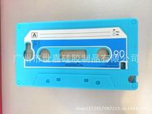 【厂家直销】iPhone6磁带录音带手机套 复古卡带硅胶手机�;た桥�