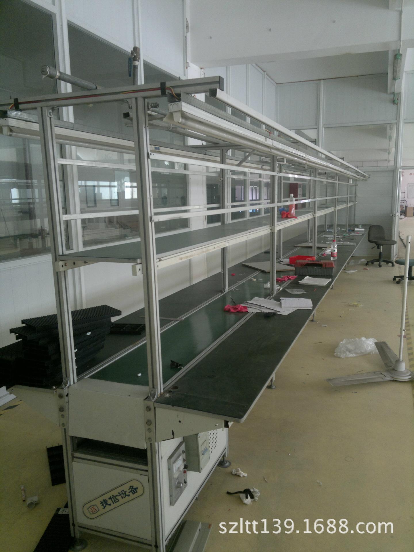 非标自动化设备二手皮带流水线 优质低价生产线 机械设备回收